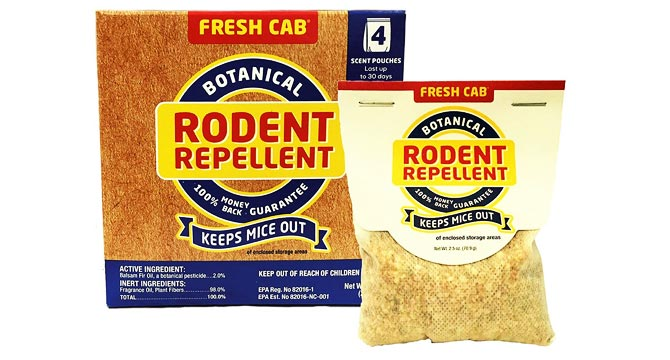 Photo of pack with Rodent Repellent