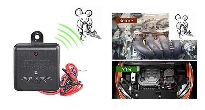 Photo of Vensmile Under the Hood Electronic Rat Repeller for Cars